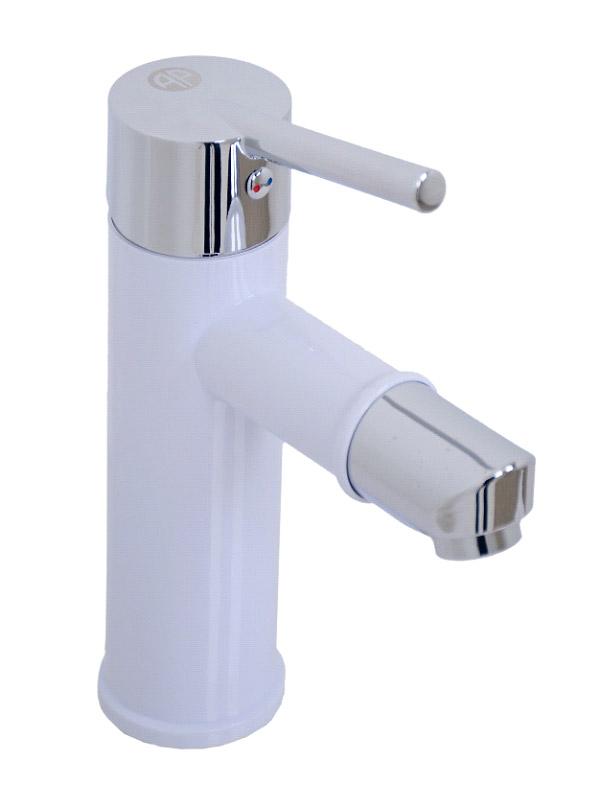 White Bathroom Mixer