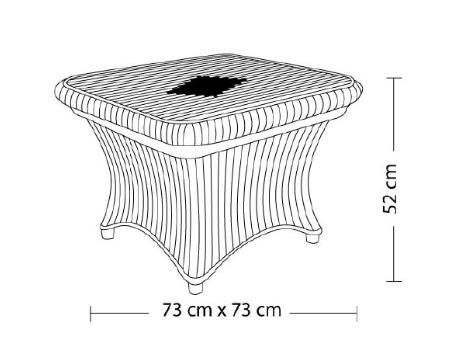 El Ameen Company for Plastic- منضدة مربع ترى
